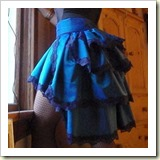 Burlesque skirt from Cut out and Keep   Frugal and Thriving