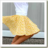Circle skirt from Made | Frugal and Thriving