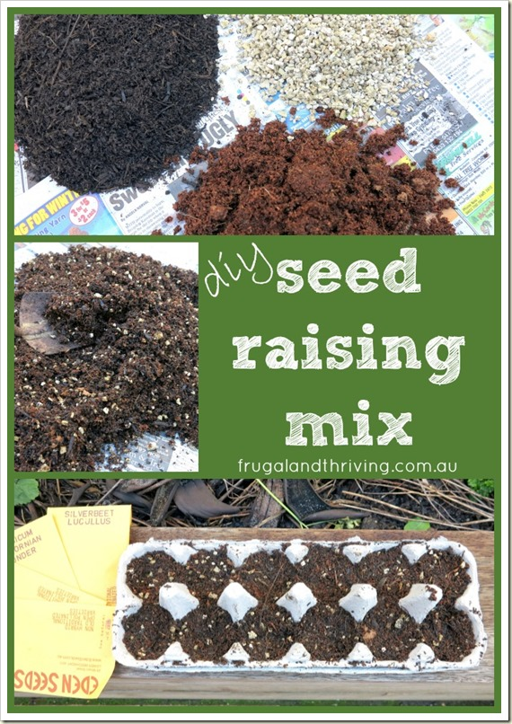 save money in the garden and get better results with a diy seed raising mix