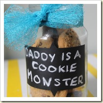 Daddy's cookie jar from City to Sticks | Frugal and Thriving