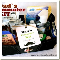 Dad's Commuter Kid from Echoes of Laughter | Frugal and Thriving Round Up