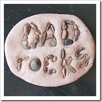 Dady Rocks from Crafts By Amanda | Frugal and Thriving Round Up