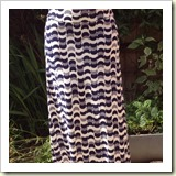 Easy Maxy skirt from Big Boo Little Boo   Frugal and Thriving