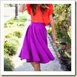 Easy circle skirt from Merricks Art | Frugal and Thriving