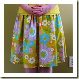 Fast and Cheap Skirt from Polka Dot Cottage | Frugal and Thriving