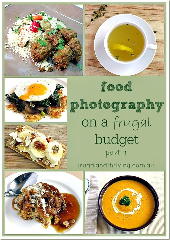 Food photography on a budget part 1