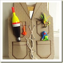 Gone Fishing Vest from My Lovely Inspirations | Frugal and Thriving Father's Day Round Up
