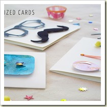 Greeting cards from Creme de la Craft | Frugal and Thriving Round-up