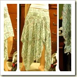 Gypsy skirt from Craftster | Frugal and Thriving