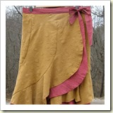 Layered Wrap Skirt from Craftster | Frugal and Thriving