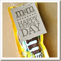 MM Candy Gram from Little Birdie Secrets | Frugal and Thriving Round Up