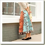 Panel Circle skirt from Better Homes and Gardens | Frugal and Thriving