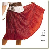 Peasant Skirt from Be Sew Stylish   Frugal and Thriving