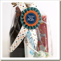 Pop treat bag from Creatively Christy | Frugal and Thriving Round Up