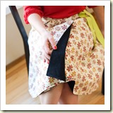 Reversible Wrap Skirt from Makezine | Frugal and Thriving