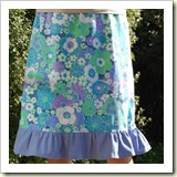 Ruffle skirt from Sew Mama Sew | Frugal and Thriving