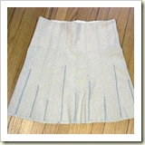 Scrap skirt from Craft Stylish   Frugal and Thriving