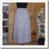 Simple gathered skirt from the Eternal Magpie   Frugal and Thriving