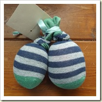 Sock Stress Balls from Creative Play House | Frugal and Thriving Round Up