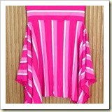 Striped circle skirt from Craftster   Frugal and Thriving
