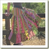 Summer Swing Skirt from Moda Bakeshop | Frugal and Thriving