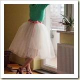Tulle skirt from Maria Just Do It | Frugal and Thriving