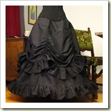 Victorian skirt from Steampunk Fashion | Frugal and Thriving