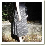 Wrap skirt pattern drafting from Sew Mama Sew | Frugal and Thriving