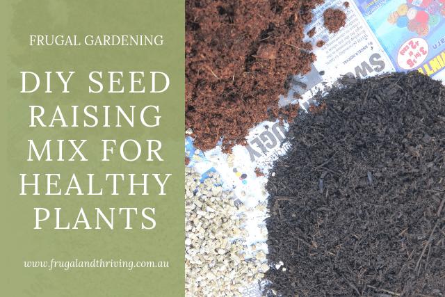diy seed raising mix
