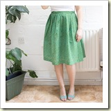 gathered skirt fromTuts+ | Frugal and Thriving