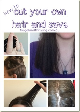 how to cut your own hair and save