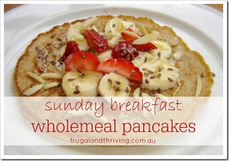 wholemeal pancakes