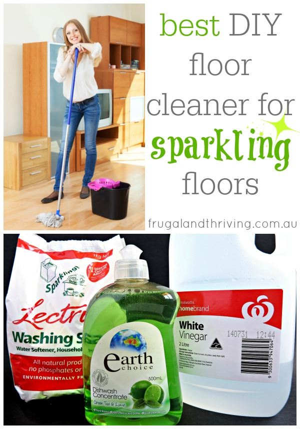 Best DIY cleaner for sparkling floors