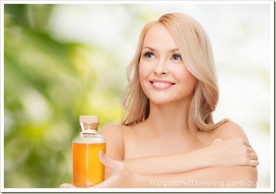 diy hot oil treatment for stronger, healthier hair
