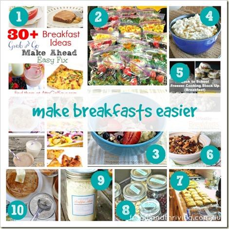make breakfasts easier
