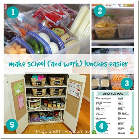 make lunches easier
