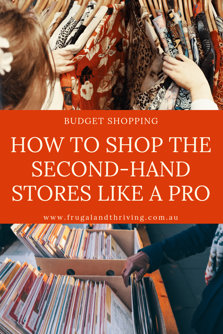shop the second hand stores like a pro