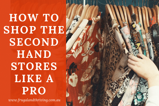 shop the secondhand stores like a pro