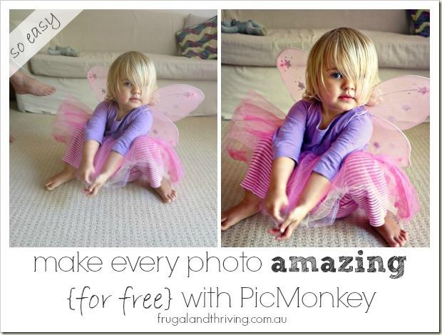 make every photo amazing {for free} with pickmonkey