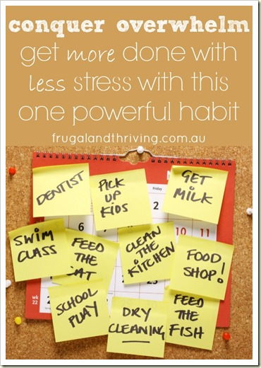 get more done with less stress with this one powerful habit