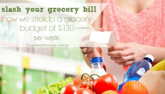 how we stick to a grocery budget of $130 a week