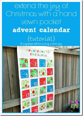 Have more fun for longer this Christmas with this handmade advent calendar