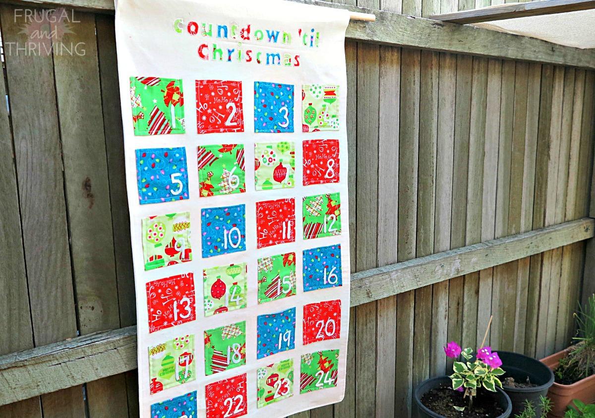 sewn advent calendar