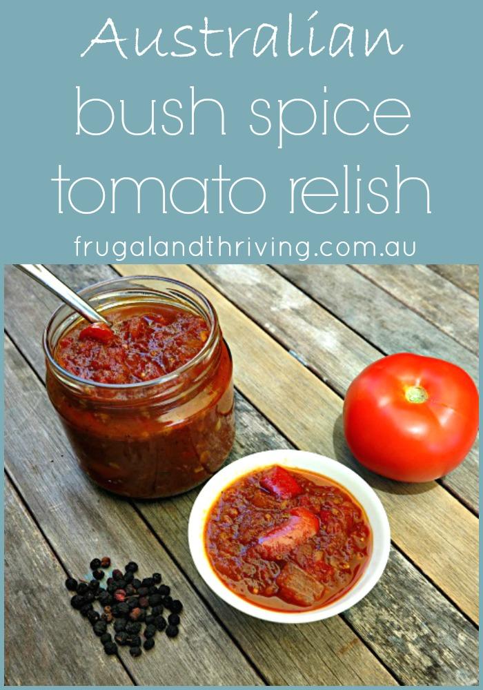 australian bush spice tomato relish
