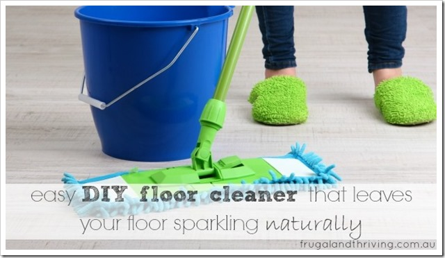 best DIY floor cleaner