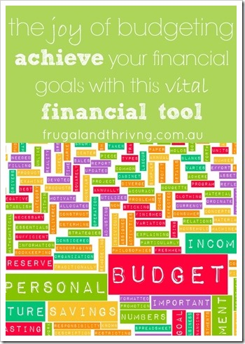 how to budget | Frugal and Thriving