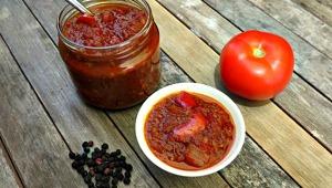 bush spice tomato chutney