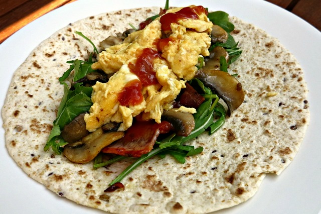 Start the Weekend Right with Healthy Breakfast Burritos