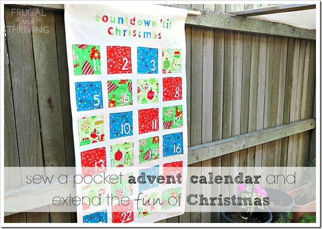 Have more fun this Christmas with this handmade Advent Calendar
