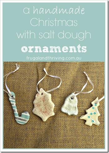 salt dough ornaments pinterest